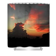 Majestic Sky Shower Curtain