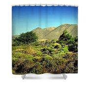 Majestic Slopes Shower Curtain
