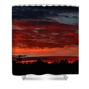Majestic Sunset 2 Shower Curtain