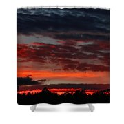 Majestic Sunset 3 Shower Curtain
