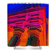 Majestic Theater Column Shower Curtain