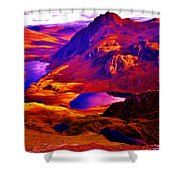 Majestic Wales Shower Curtain