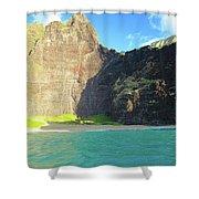 Majestic Wall Western Kauai Shower Curtain