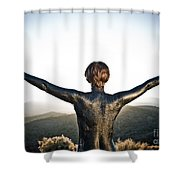 Majestic Wave Shower Curtain