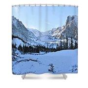 Majestic Winter Landscape Shower Curtain