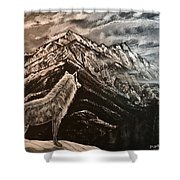 Majestic Wolf Shower Curtain