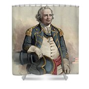 Major General Israel Putnam Shower Curtain