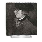 Major General James Wolfe, 1727 To Shower Curtain