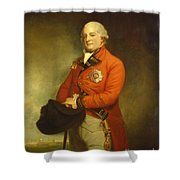 Major-general Sir Archibald Campbell Shower Curtain