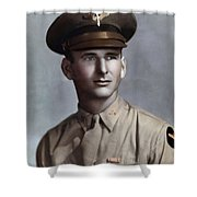 Major Tom T. Leask Shower Curtain