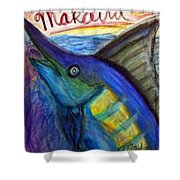 Makaira Shower Curtain