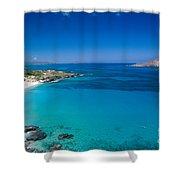 Makapuu Beach Shower Curtain