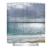Makapuu Beach Oahu Hawaii Shower Curtain