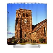 Maui Hawaii Makawao Union Church II Shower Curtain