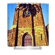 Maui Hawaii Makawao Union Church Shower Curtain