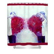 Make Bloom Shower Curtain