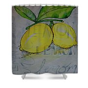 Make Lemonade Shower Curtain