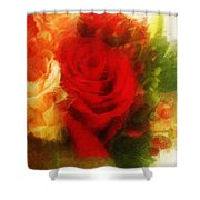 Make Mine Roses Please Too Shower Curtain