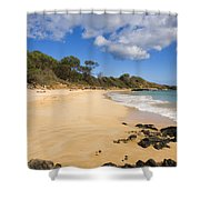 Makena Beach Shower Curtain