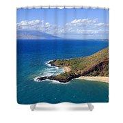 Makena, Maui Shower Curtain