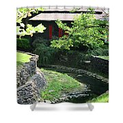 Makers Mark Shower Curtain