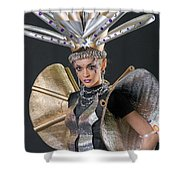 Makeup And Hair Artists Competition  Shower Curtain