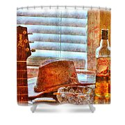 Making Music 002 Shower Curtain by Barry Jones