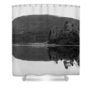 Malady Head Shower Curtain