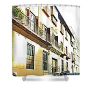 Malaga-2010-14 Shower Curtain