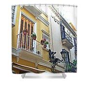 Malaga-2010-20 Shower Curtain