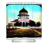 Malay Mosque Singapore Circa 1910 Shower Curtain