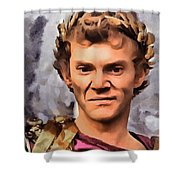 Malcolm Mcdowell Shower Curtain