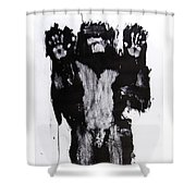 Male Nude Front Shower Curtain