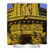 Male Statue Palace Of Fine Arts Shower Curtain
