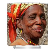 Maleea Shower Curtain