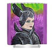 Maleficent Shower Curtain