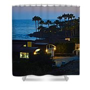 Malibu Beach House - Evening Shower Curtain