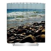 Malibu, Ca Shower Curtain