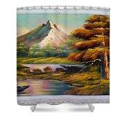 Malibu Hill Shower Curtain