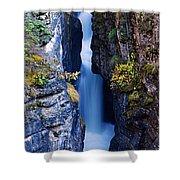 Maligne Canyon Shower Curtain