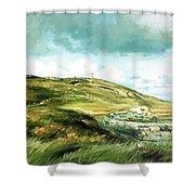 Malin Head Ireland Shower Curtain