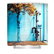 Mall Pipe Shower Curtain