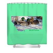 Mallard Montana Shower Curtain