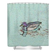 Mallards Edge Shower Curtain