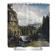 Mallero Mountain Creek - Chiesa In Valmalenco - Lombardia - Italy Shower Curtain