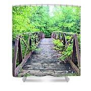 Mallory Bridge Shower Curtain