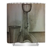 Malt Machine Shower Curtain