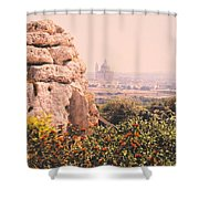 Malta Wall  Shower Curtain