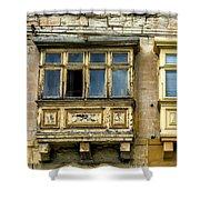 Maltase Style Windows  Shower Curtain