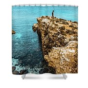 Maltese Dream Shower Curtain